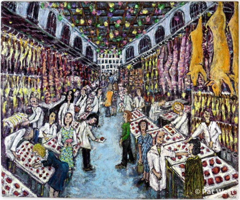 """""""Athens Meat Market"""" by Pat West"""