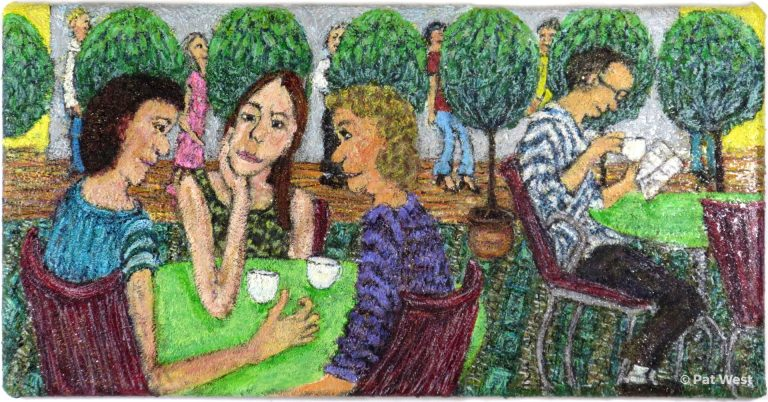 """""""Lunch at the Met"""" by Pat West"""
