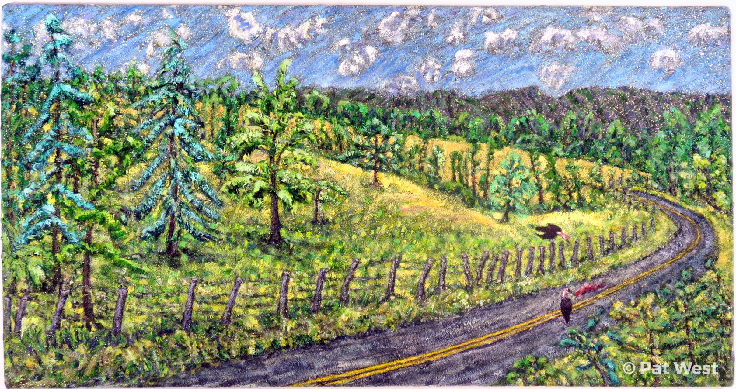 """""""Route 42"""" by Pat West"""